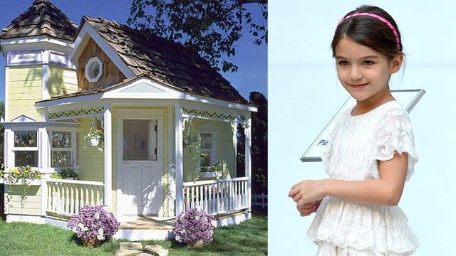 Is Suri Cruise getting a house for Christmas?