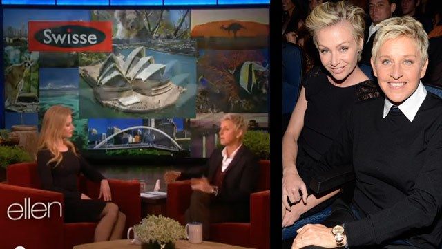 Ellen Degeneres is to Australia!