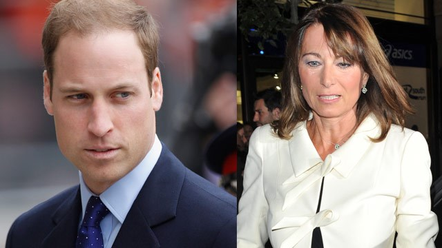 Prince William tells Carole: Butt out!