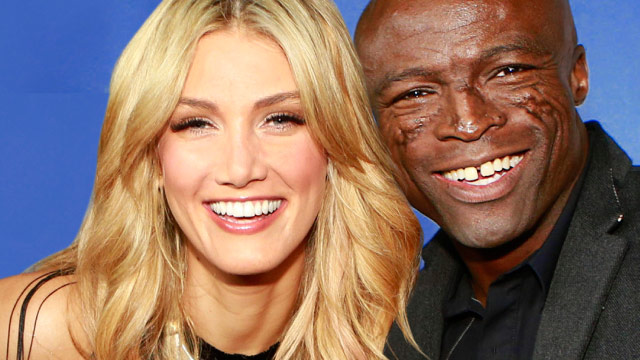 Delta Goodrem shuts down relationship rumours with Seal