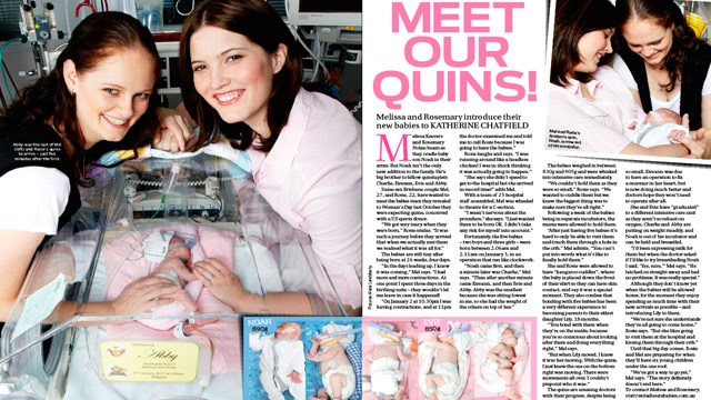 Aussie couple's joy: Meet our quintuplets!