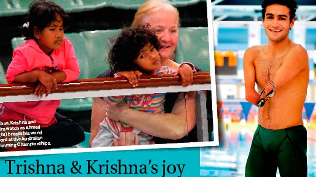 Trishna and Krishna's joy: We're so proud of our brother