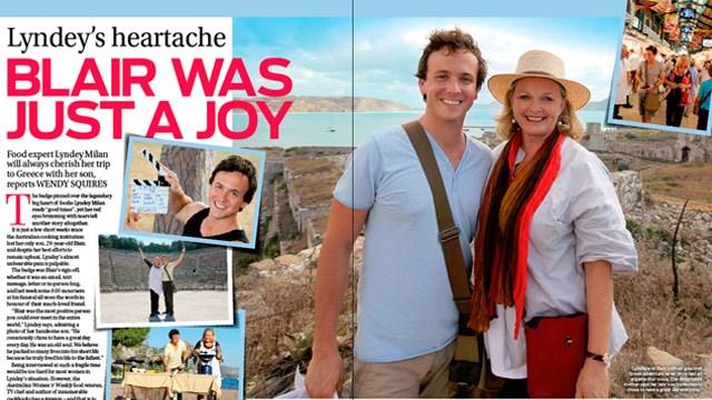 Lyndey's heartache: Blair was just a joy