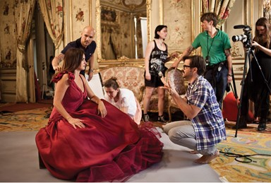 Penelope Cruz: Behind the scenes