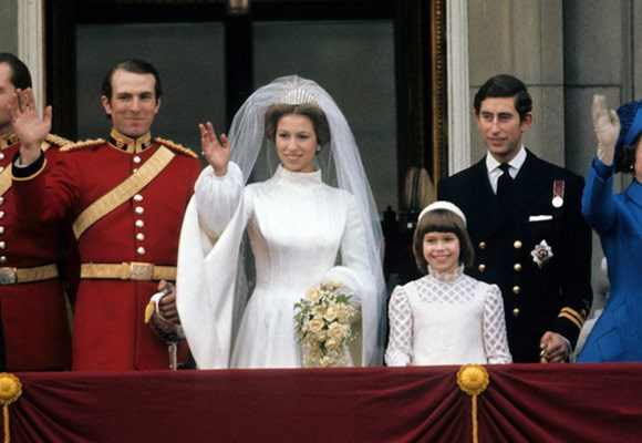 Princess Anne Wedding Dress Pictures : Princess anne s wedding dress was an embroidered tudor style gown