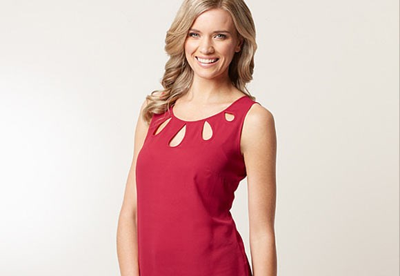 A sleeveless blouse that can be worn under any jacket or cardigan is a must-have. The look and price of this cut-out neck blouse ($24.88) from [**Target**](http://shop.target.com.au/city-dressing-sleeveless-cut-out-neck-blouse) is just right. Can be paired with skinny pants, a pencil skirt or a suit.