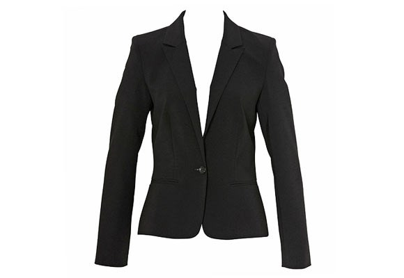 The most simple, yet underrated staple in any work wardrobe. Check out this comfy and fully-lined, one-button closure suit jacket ($199.95) from [**Portmans**](http://www.portmans.com.au/workwearcollection/535066).