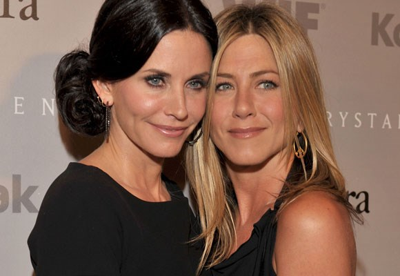 "Since starring together in the 90's sitcom *Friends* these two have been hard to keep apart. ""I can tell you we're both very fortunate to have each other,"" Courteney told *Marie Claire*. The pals are even trying to get the cast of friends back together for an on screen reunion."