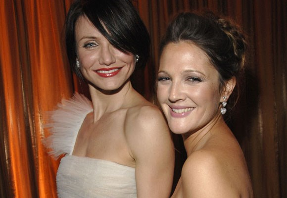 Bubbly best friends Drew Barrymore and Cameron Diaz have been besties since filming the *Charlie's Angels* movies together. Despite constant rumors that their relationship is on the rocks, the girls seem to always stick by one another.