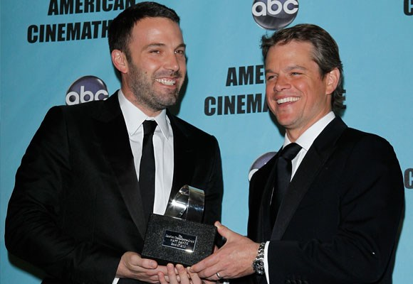 These two were friends before they hit the big time. Together they launched themselves into the spotlight with the screen play which the co-wrote *Good Will Hunting*. At the beginning of their career the two were inseparable! They are not so much spotted together now, but remain great friends.
