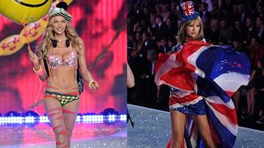 Taylor Swift's catwalk catfight