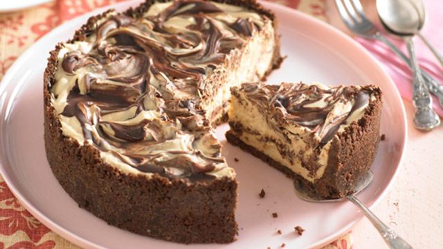 Mocha cheesecake : Woman's Day NZ